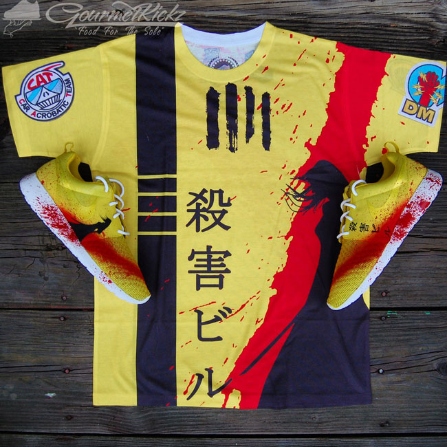 7ad494f5cc6 GourmetKickz Custom Kill Bill Part 2 Roshe Shirt