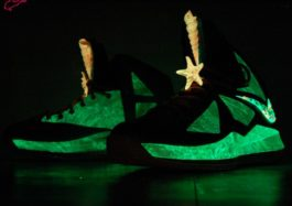 GourmetKickz Custom 305 LeBron X Glowing