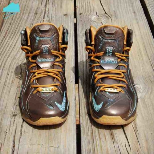 Custom LeBronze LeBron 12 by GourmetKickz