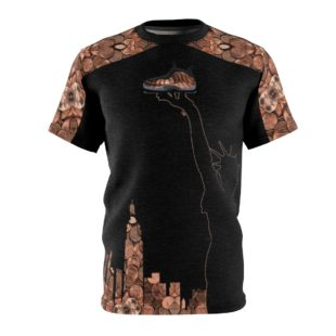 Copper Foamposite Liberty V6 SneakerMatch T-Shirt