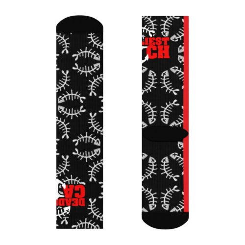 Gone Fishing Foamposite Sneaker Match Sublimation Socks v3